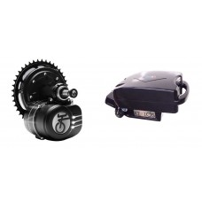 OFFERTA SPECIALE - Motore centrale Tongsheng active torque 250 W 36 V + Batteria frog sottosella 10,4 Ah Celle Samsung